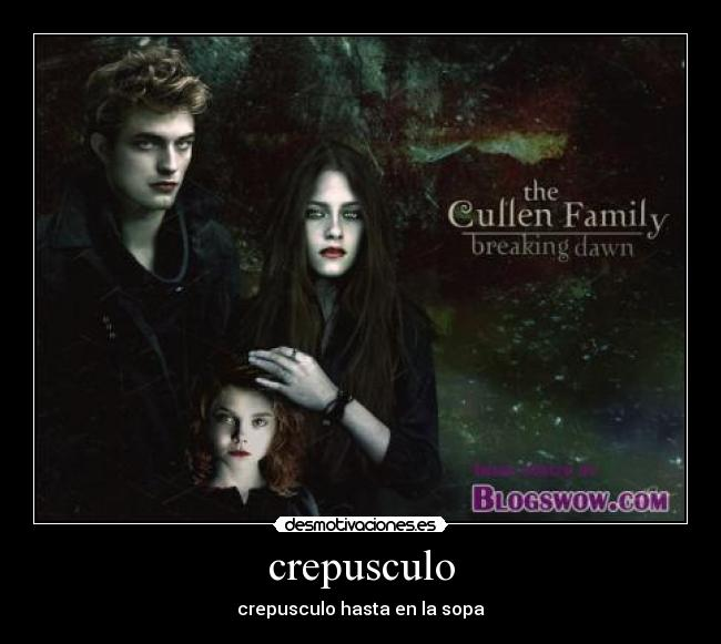 crepusculo -