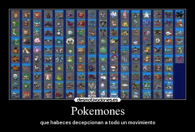 carteles pokemon black and white son una mierda desmotivaciones
