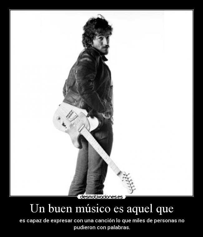 carteles bruce springsteen born run desmotivaciones
