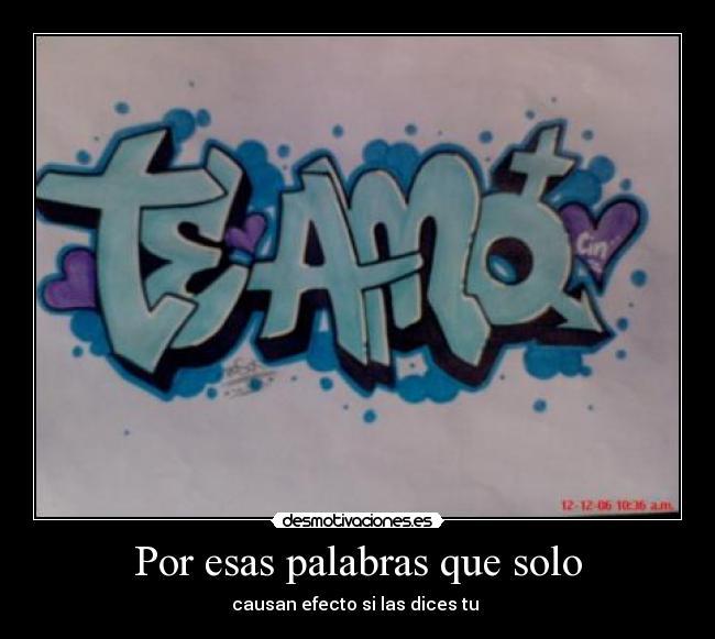 Imagenes que digan te amo en graffiti | Imagenes de amor HD