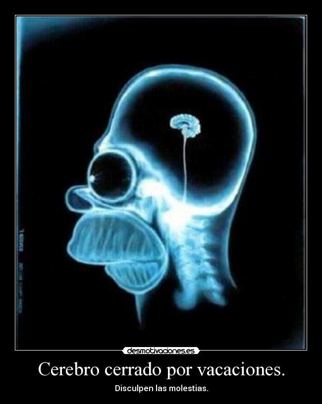 Cerebro cerrado por vacaciones desmotivaciones carteles navidad vacaciones desmotivaciones thecheapjerseys Images