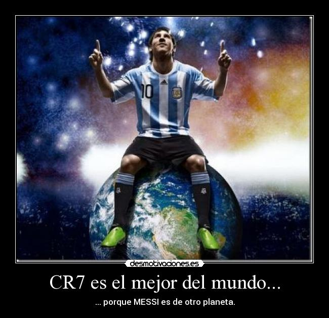 Cr7 es el mejor del mundo desmotivaciones - El mejor colchon del mundo ...