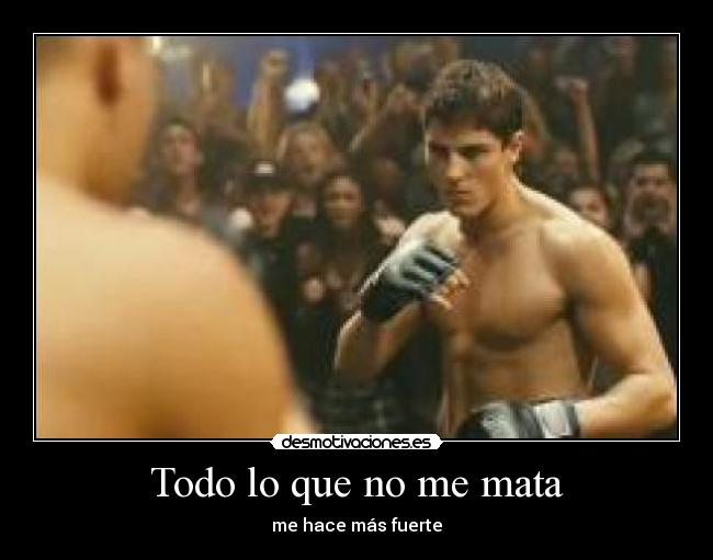 Carteles Never Back Down Sean Faris Stronger Desmotivaciones