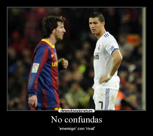 carteles jxm cr7 messi ambos son unos putos cracks desmotivaciones