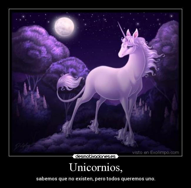 Unicornios, | Desmotivaciones