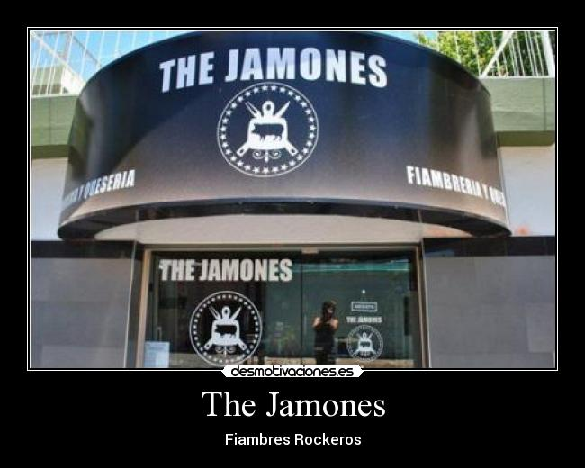 The Jamones - Fiambres Rockeros