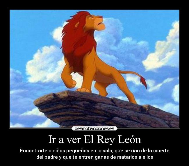 carteles the lion king desmotivaciones