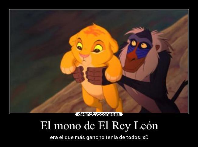 Frases De Mono: El Mono De El Rey León