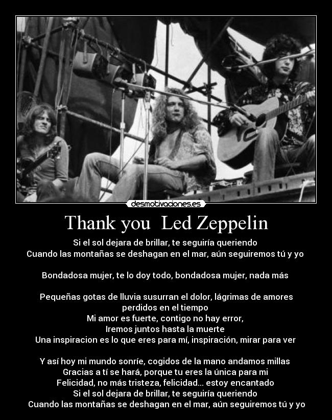 Thank You By Led Zeppelin Free