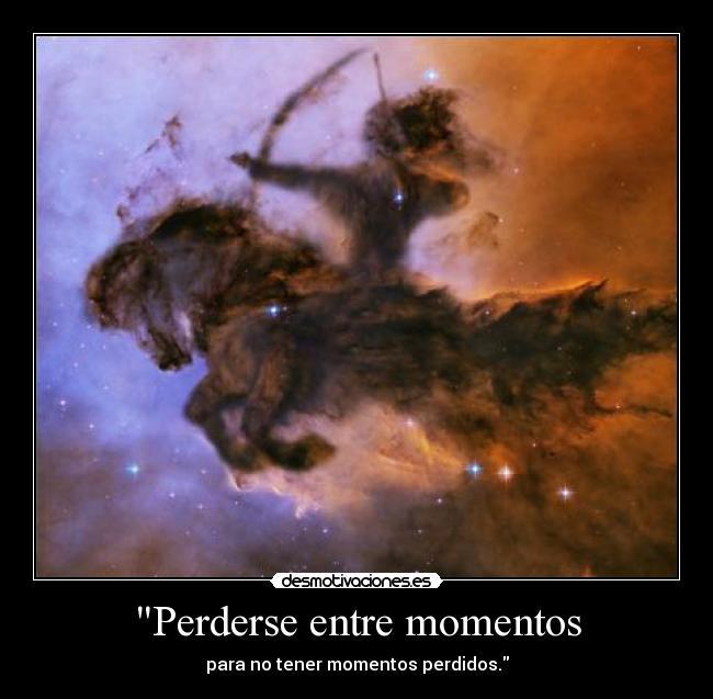 carteles cupido con arco galopando caballo por universo toda ostia desmotivaciones