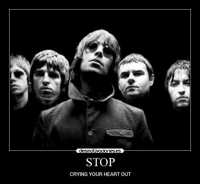 STOP - CRYING YOUR HEART OUT