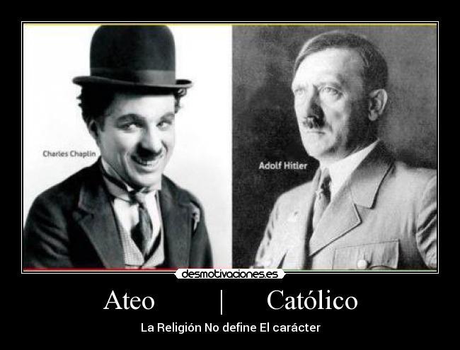 Matrimonio Catolico Y Ateo : Ateo católico desmotivaciones