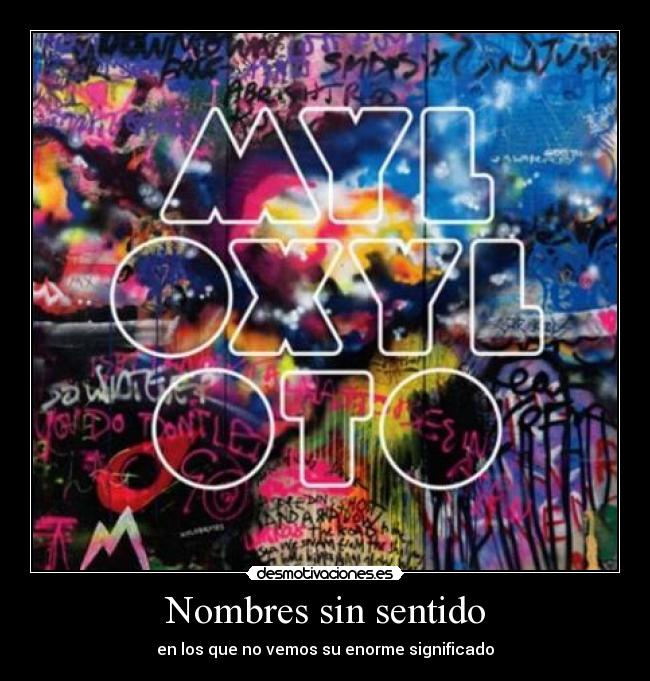 carteles coldplay mylo xyloto
