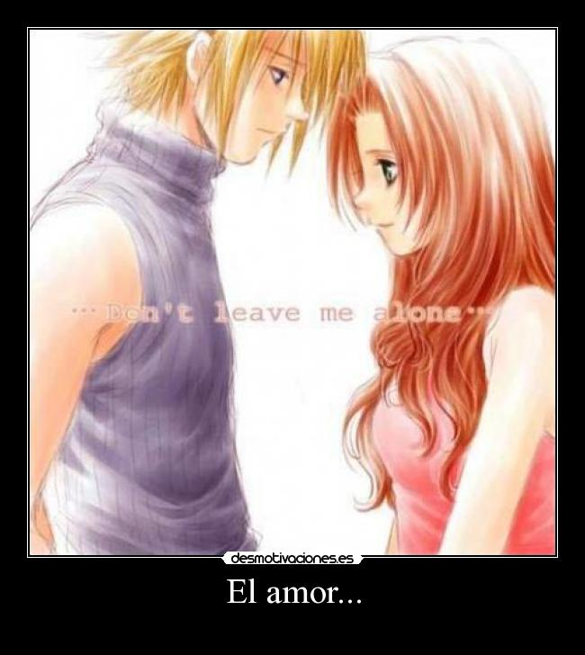Chica y chico anime