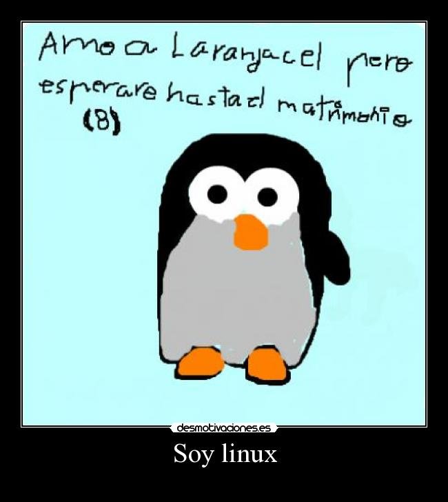 Soy linux -