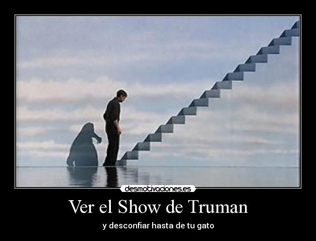the truman show religion I re-watched one of my favorites, the truman show, for the first time in a really long time and it occurred to me that it's really a beautiful allegory for leaving.