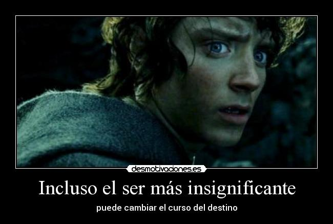 carteles frodo the hobbit jake the dog and finn the human desmotivaciones