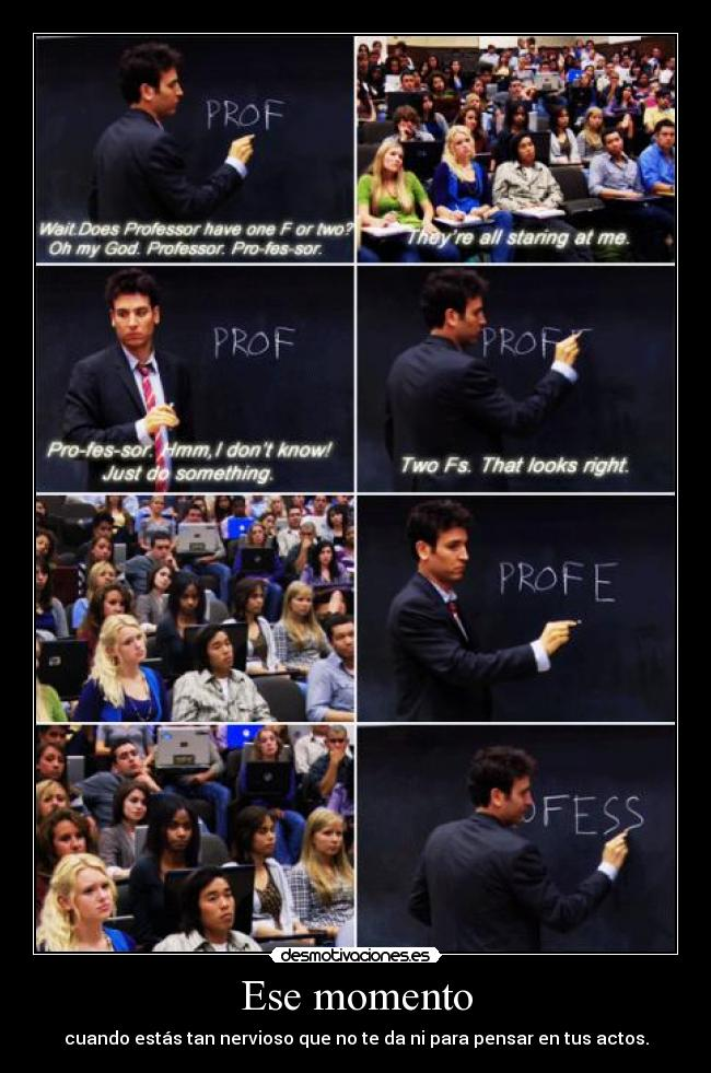 carteles ted mosby how met your mother clanflowermeponeacien jajejajejajejajejajeja desmotivaciones