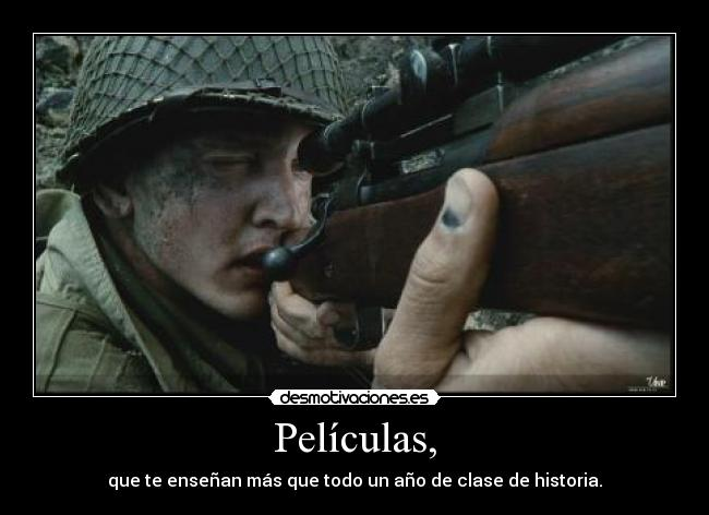 carteles saving private ryan desmotivaciones