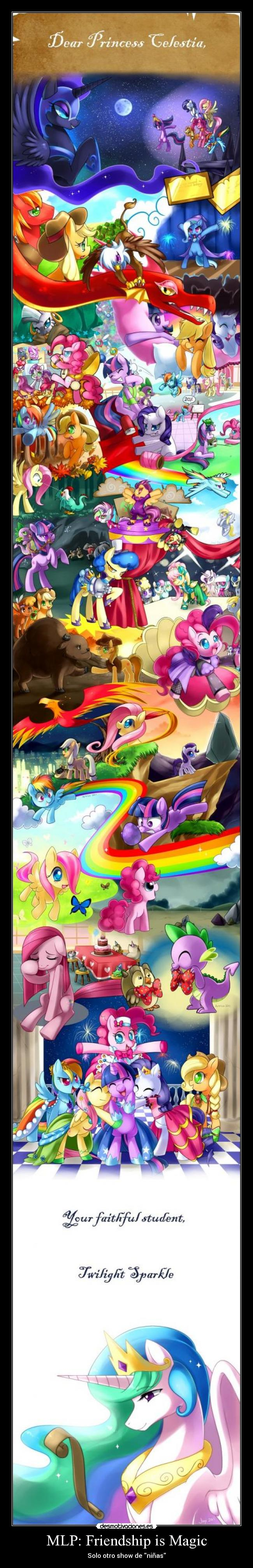 carteles little pony friendship magic brony ponyponyponyponyponypony percent more cooler desmotivaciones