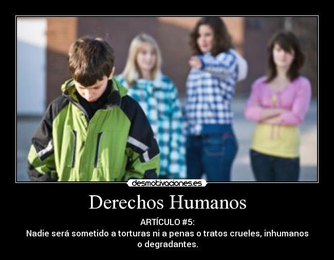 Derechos Humanos   Desmotivaciones