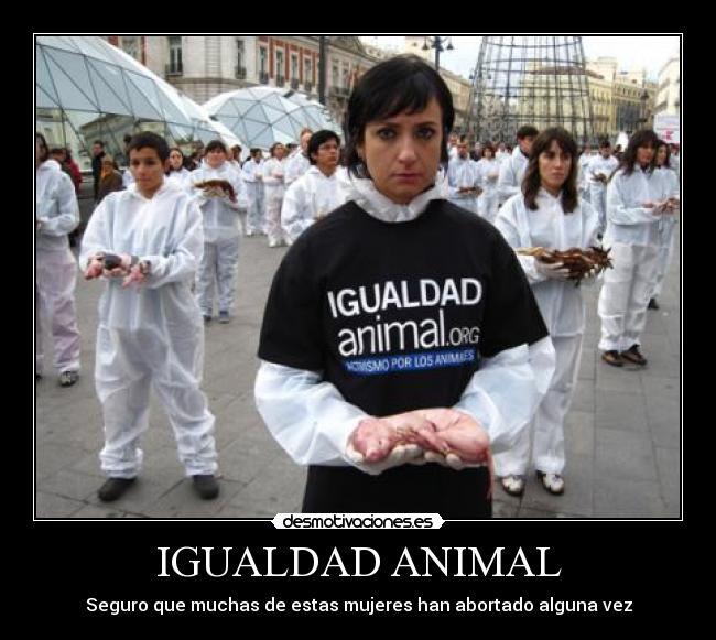 Igualdad Animal Desmotivaciones