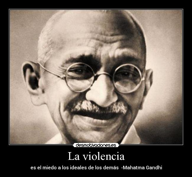 La violencia   Desmotivaciones