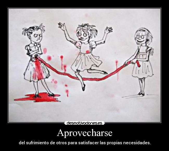 Aprovecharse -