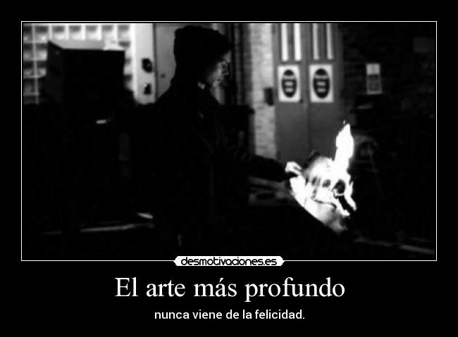 carteles arte through the fire and flames desmotivaciones