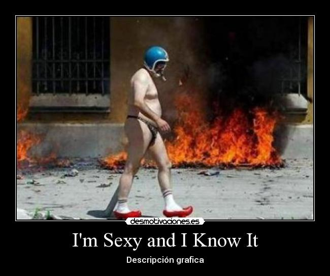 Im sexy and i know it letra