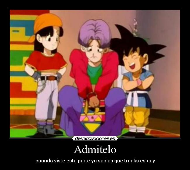 goku trunks y pan: