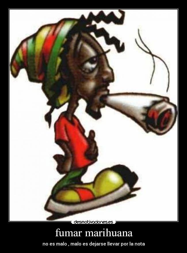 ES Malo Fumar Marihuana