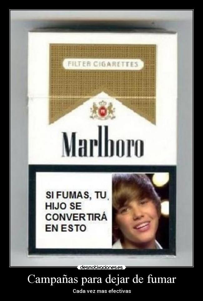 Dejar fumar los puestos