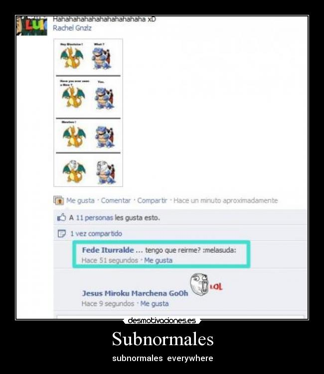 Subnormales - subnormales  everywhere