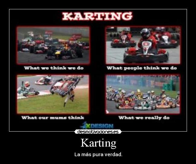 Karting Desmotivaciones