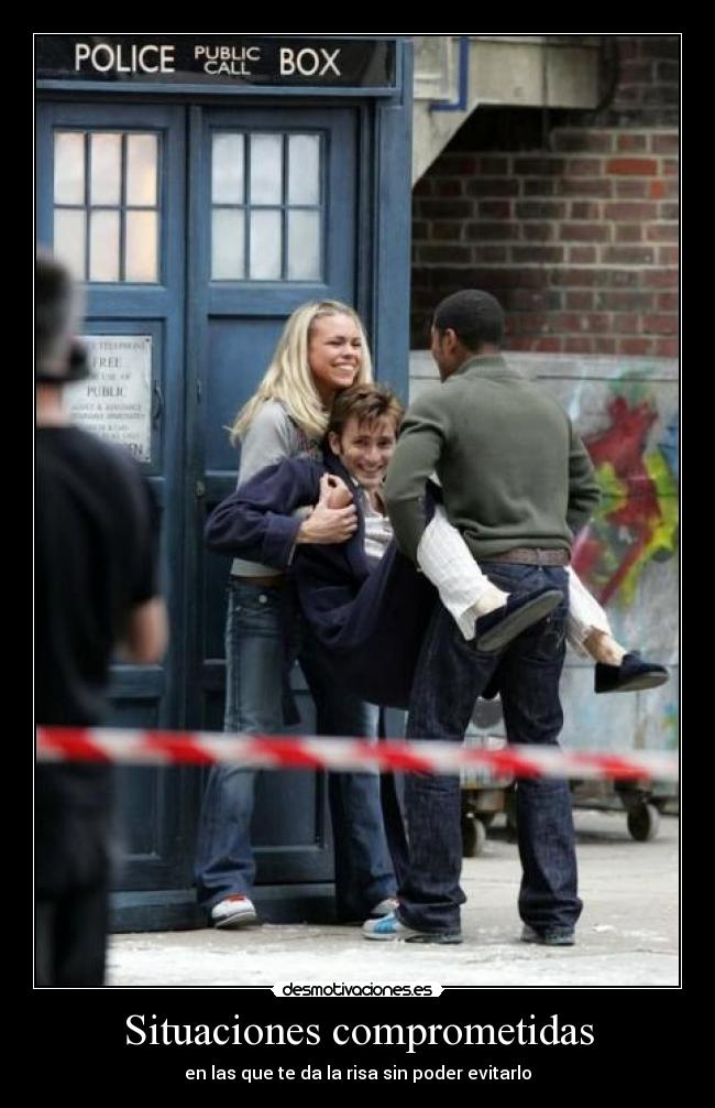 carteles clantimelord david tennant billie piper doctorwho doctor whovian timelord desmotivaciones