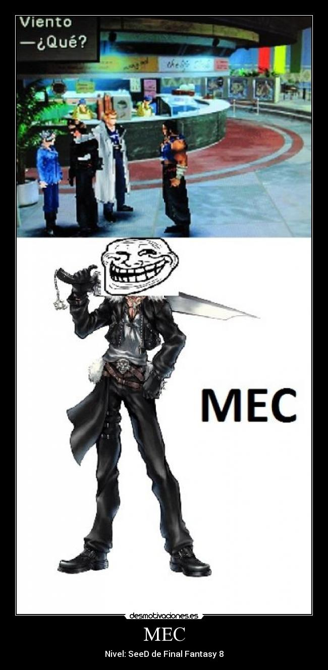 MEC - Nivel: SeeD de Final Fantasy 8