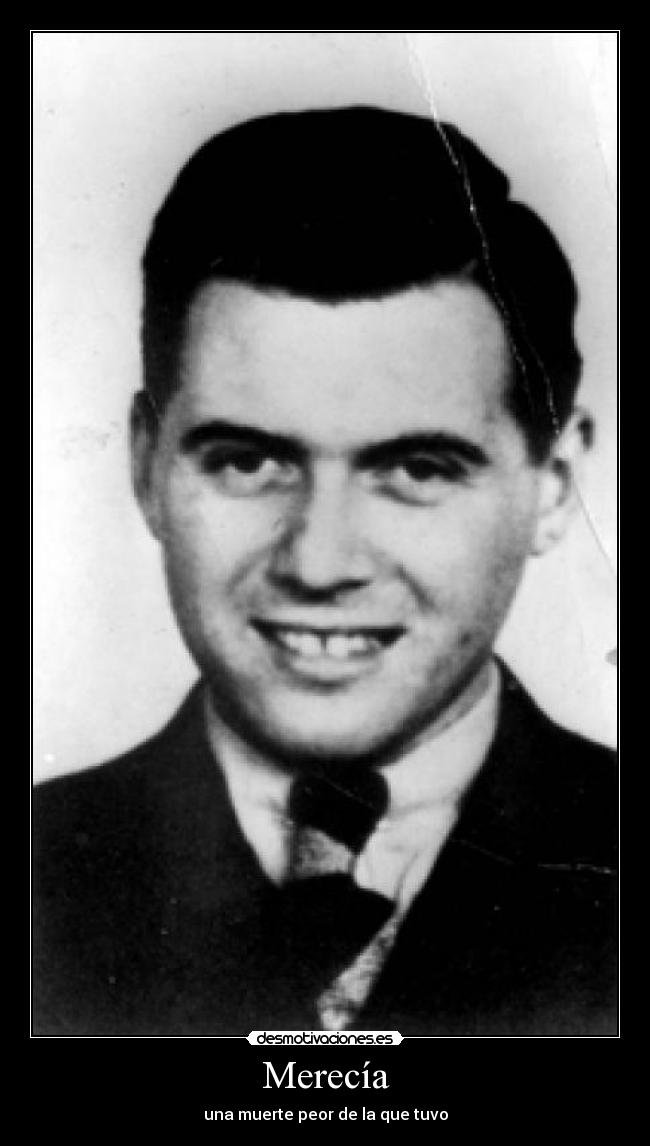 josef mengele Born in 1911, josef mengele was a philosophy student who would go on to become one of the most frightening faces of the holocaust known as the angel of death, many.