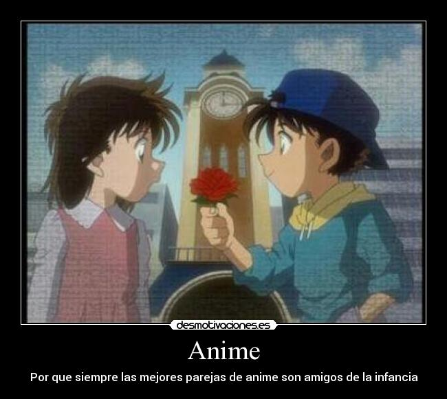 carteles anime magic kaito kaito aoko anime desmotivaciones