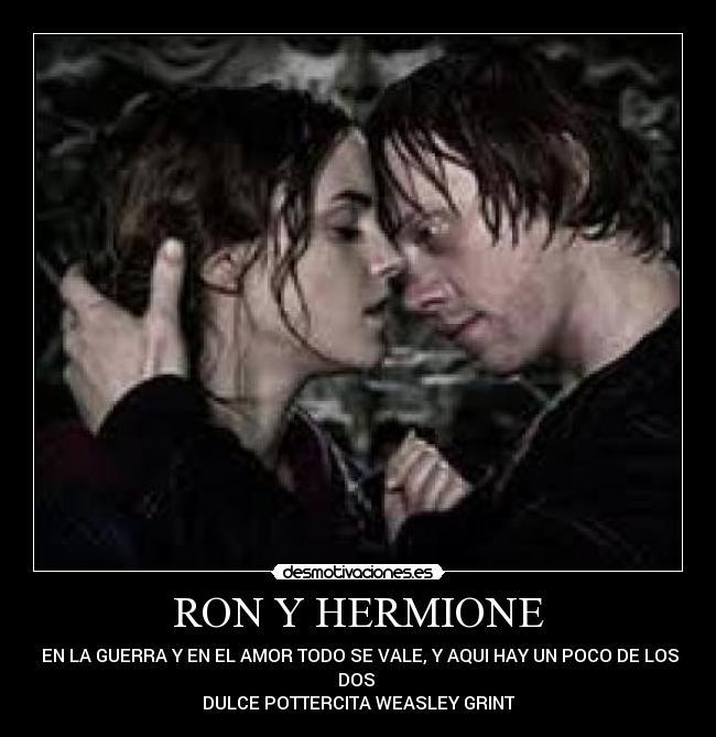 ron y hermione porno