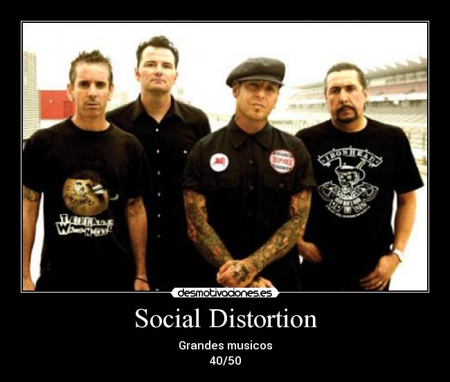 Social Distortion - Grandes musicos 40/50