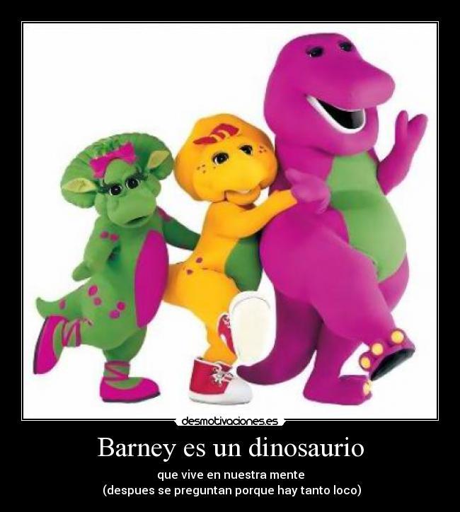 dinosaurio barney: