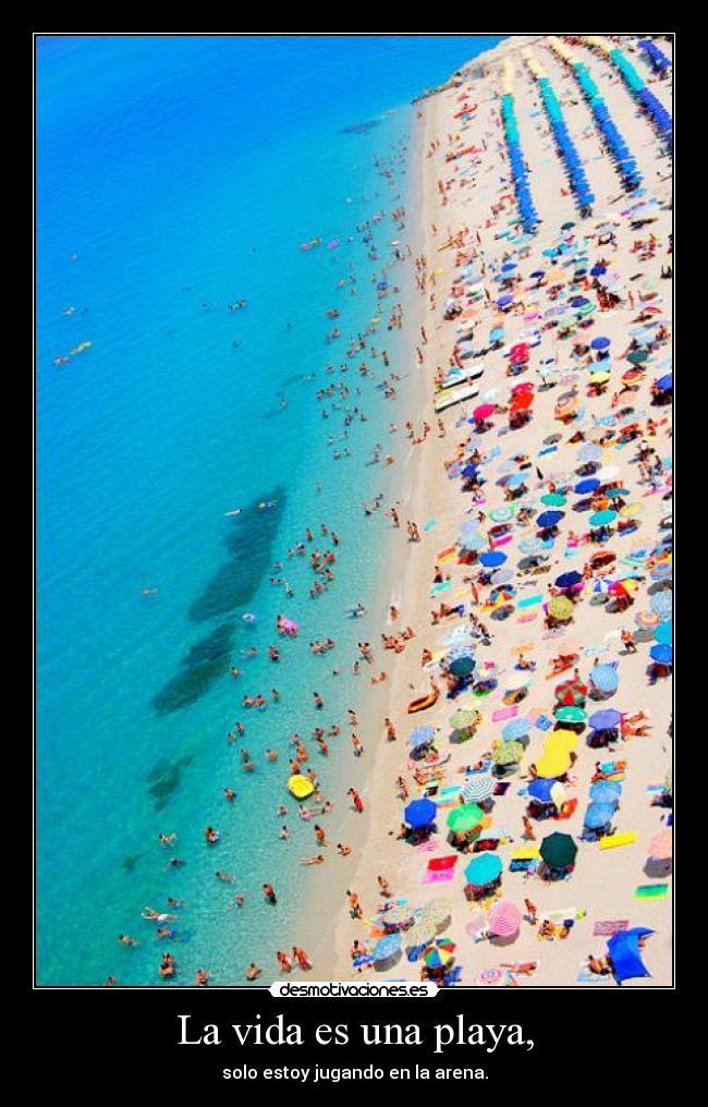 carteles vida epuntoecontlide lil wayne lifes beach just playing the sand ewe teqq sergioooo desmotivaciones