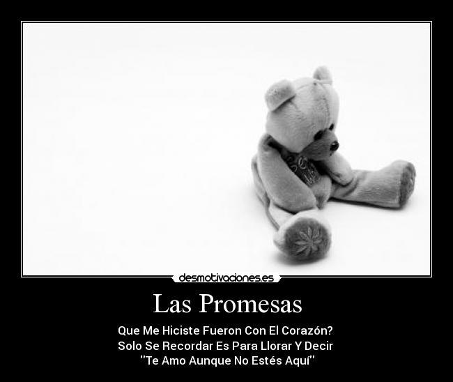 Las Promesas Desmotivaciones