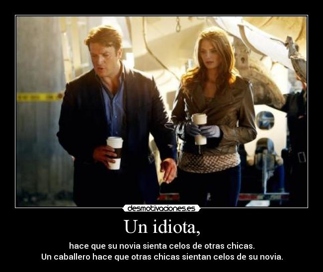 carteles mariagr fans castle forever kate beckett and rick castle desmotivaciones
