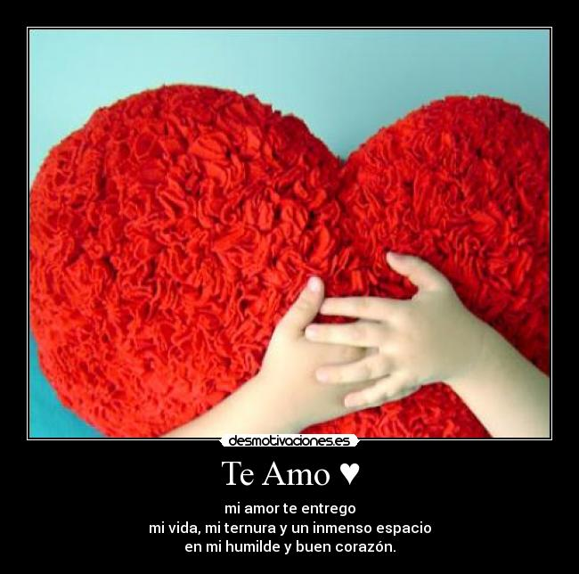 Te amo novia - Imagui