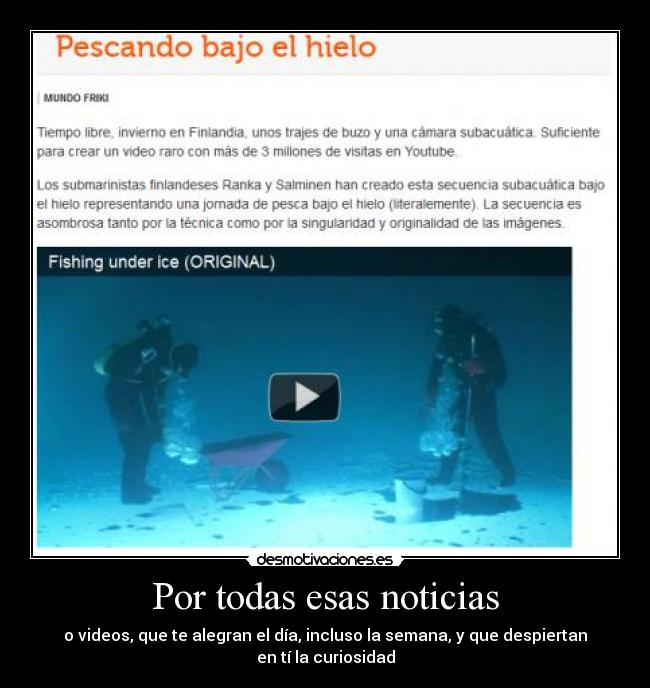 carteles fishing under ice blublublu desmotivaciones