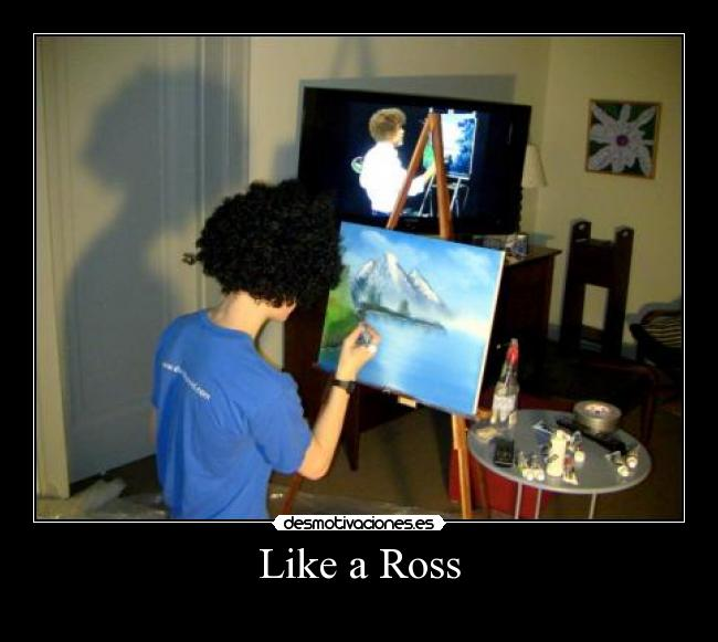 kit pintura bob ross: