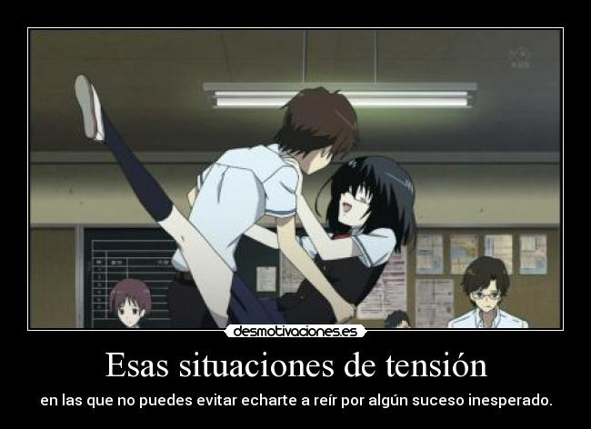 carteles sakakibara another misaki tension reir desmotivaciones