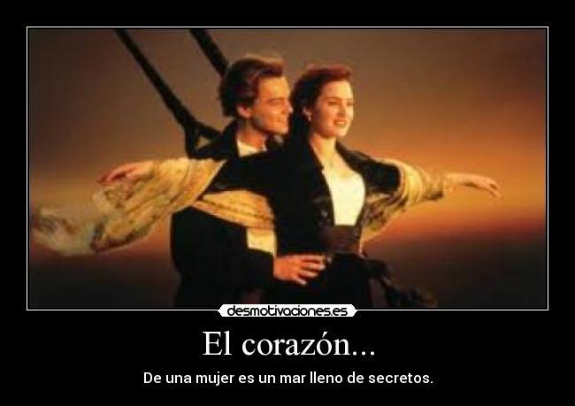 Corazon Del Mar Titanic Carteles Corazon Titanic Mar